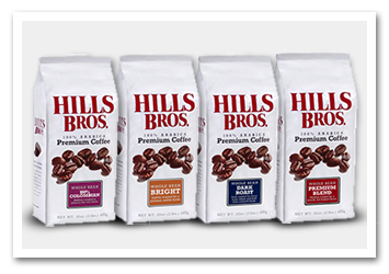 Hills Bros Premium Bag Coffees